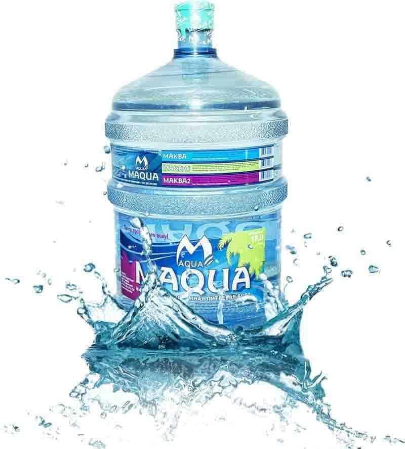 Вода питьевая «MAQUA йод-фтор» 18,9л