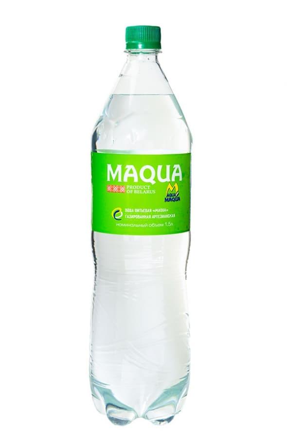 Вода питьевая газированная 1,5л