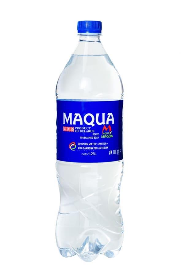 """Вода питьевая негазированная """"Maqua"""" 1,25 л."""