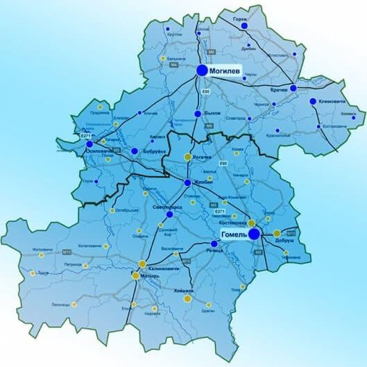 Карта доставки питьевой воды Maqua
