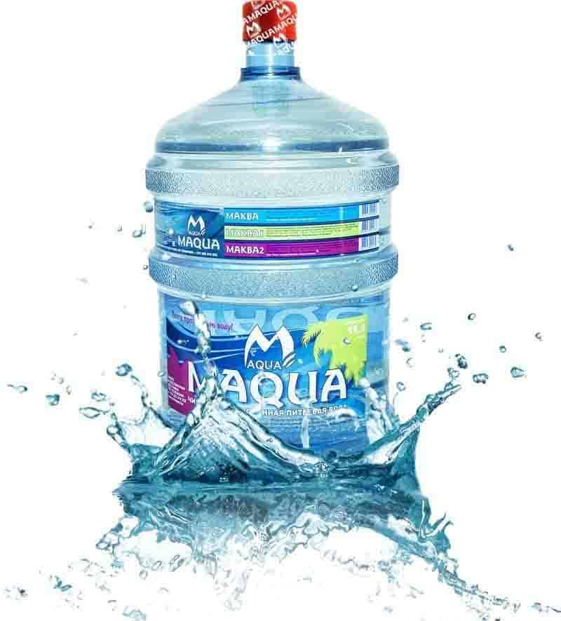 Вода питьевая «MAQUA йод-селен» 19л