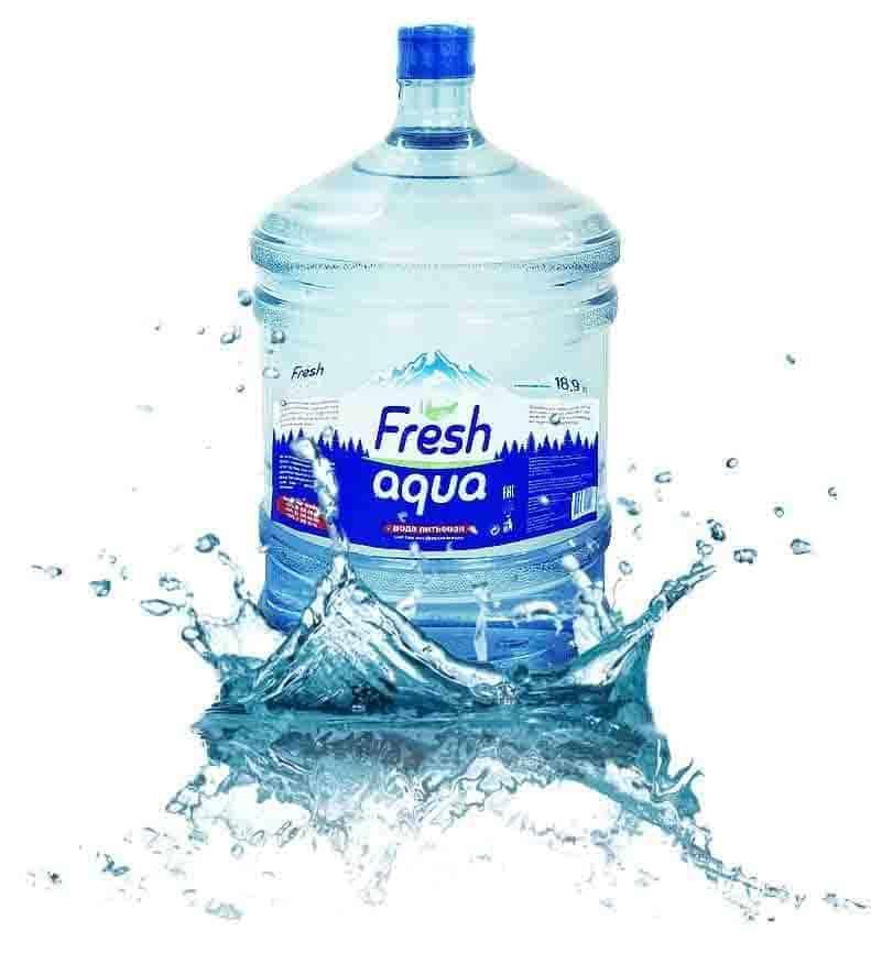 Вода питьевая «Fresh aqua» 18,9л