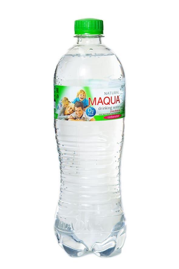 """Вода питьевая газированная """"MAQUA"""" 0,75л"""
