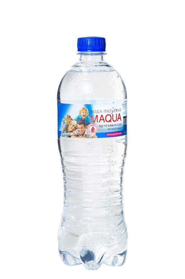 """Вода питьевая негазированная """"MAQUA"""" 0,75л"""