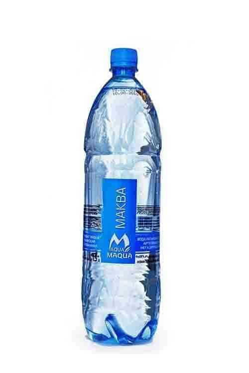 """Вода питьевая негазированная """"MAQUA"""" 1,5л"""
