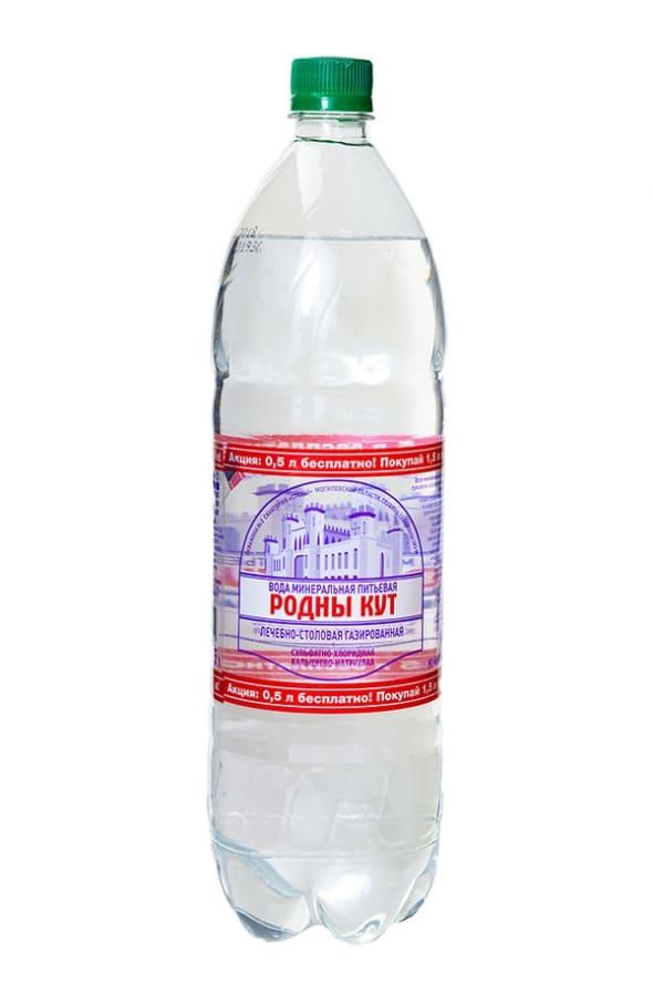 """Вода лечебно-столовая минеральная """"Родны Кут"""" 1,5л"""