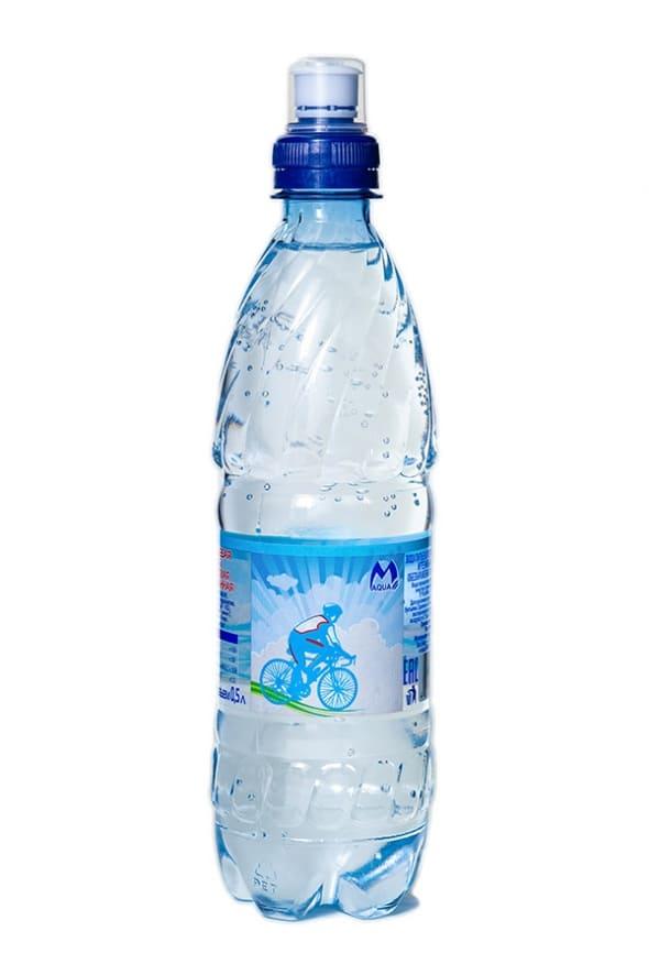 """Вода негазированная со спорт-колпачком """"Maqua"""" 0,5л"""