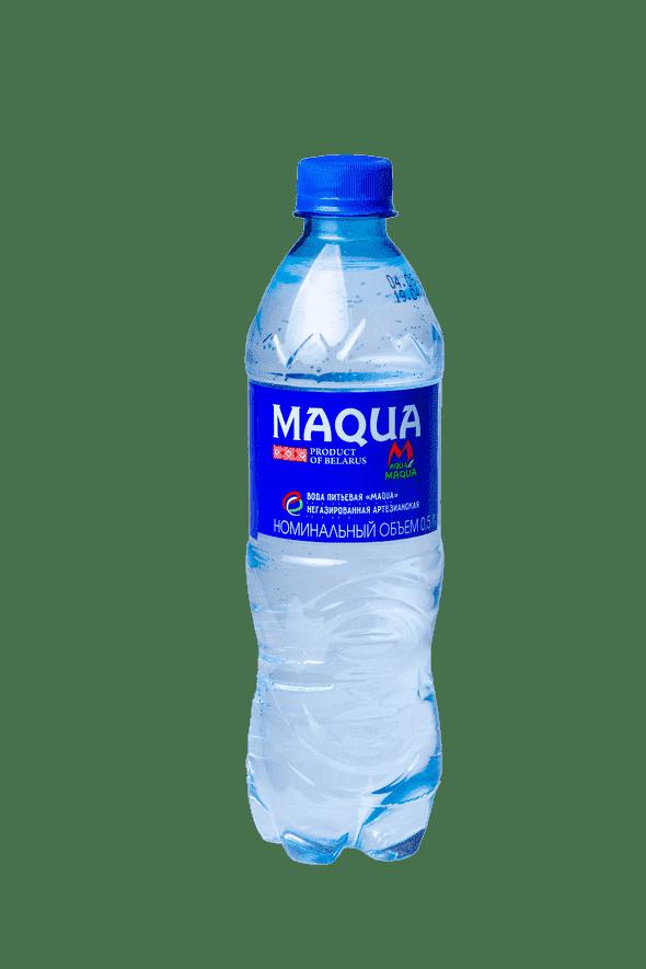 """Вода питьевая негазированная """"MAQUA"""" 0,5 л"""