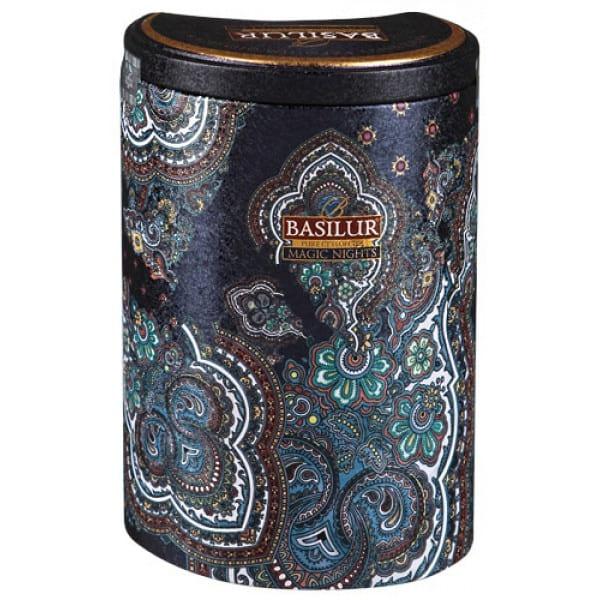 """Черный листовой чай Basilur """"Magic Nights"""" (банка жесть, 100 гр)"""