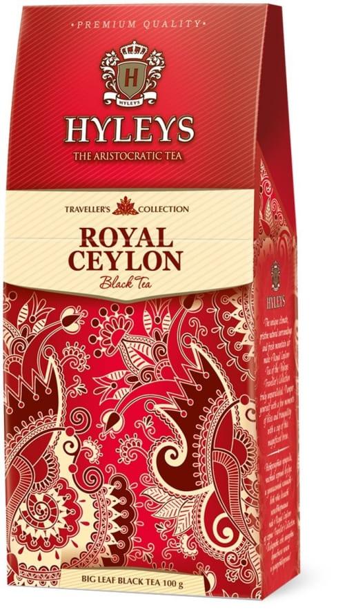 Чай HYLEYS Роял Цейлон 100г х 12