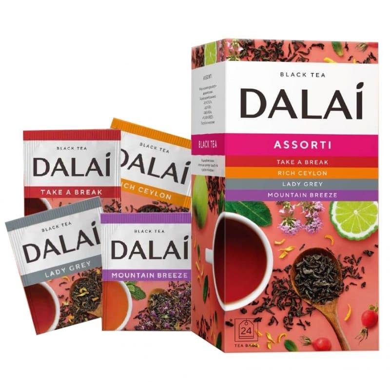 """Чай черный """"Dalai. Ассорти"""" (24 пакетика)"""