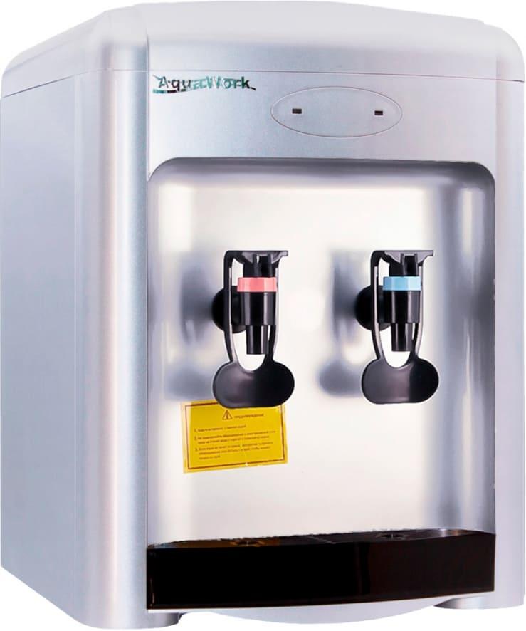 Кулер для воды Aqua Work 36-TDN серебристый
