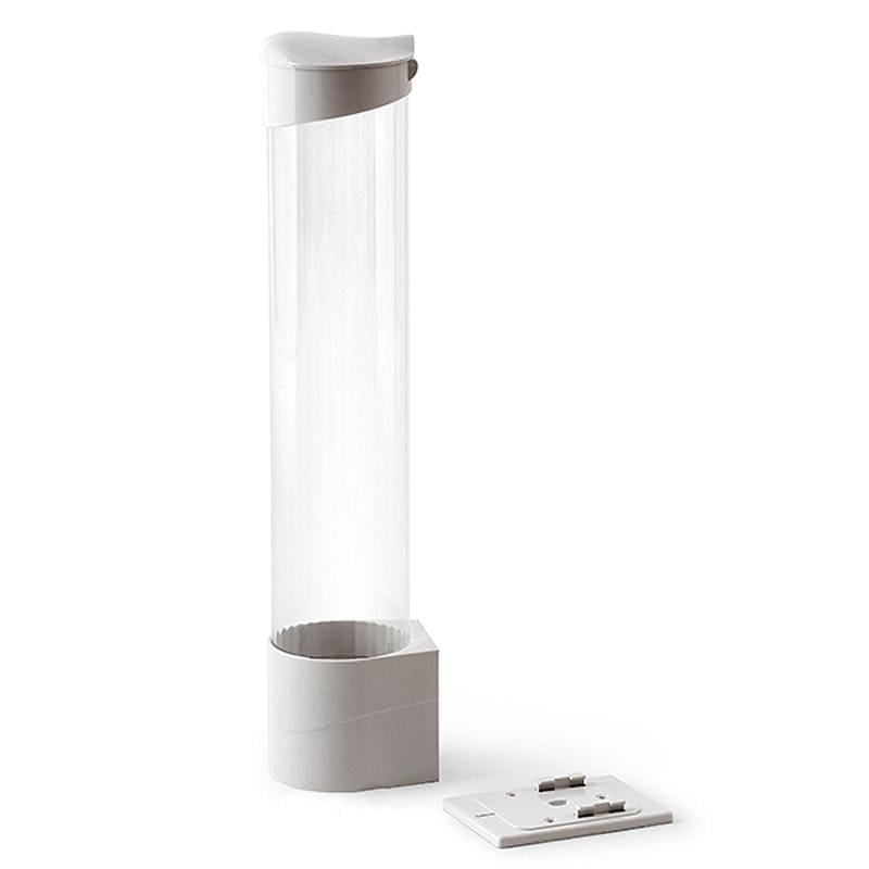 Держатель стаканов для кулера белый на магните